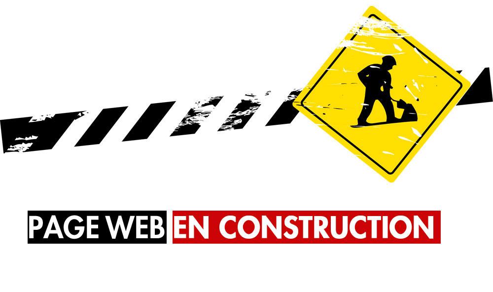 Nouveau Site En Construction