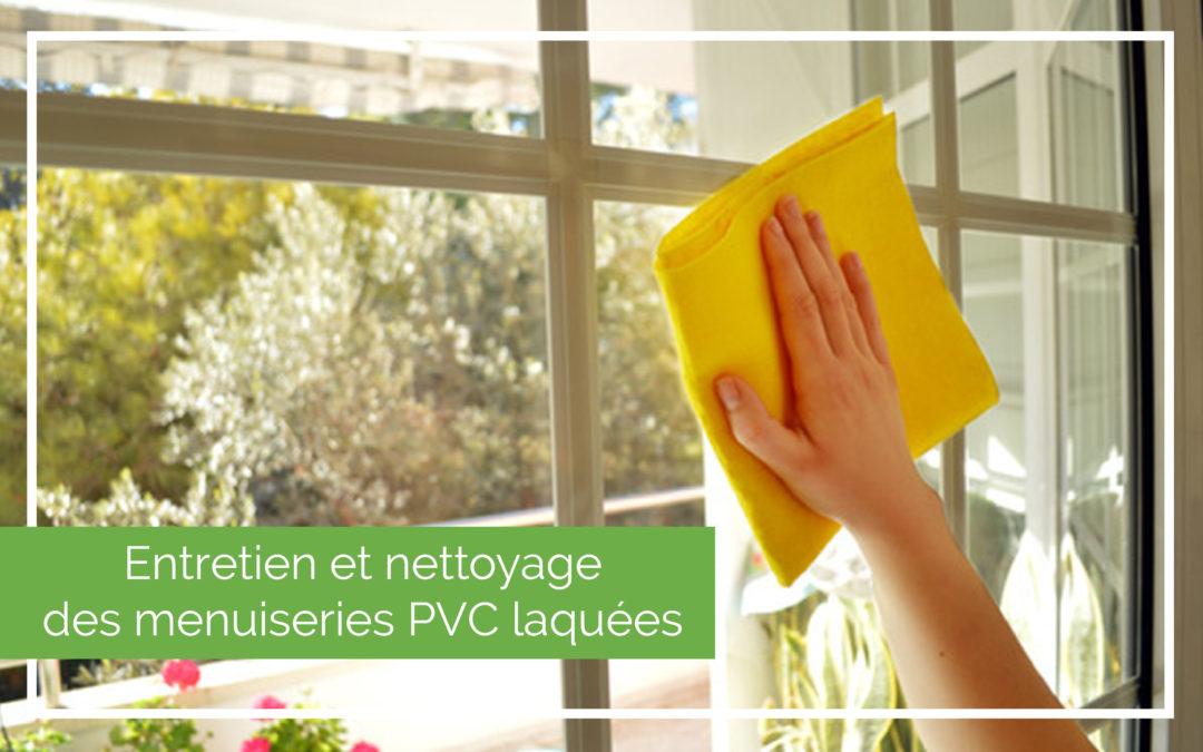 PVC laqué – Protocole d'entretien et de nettoyage
